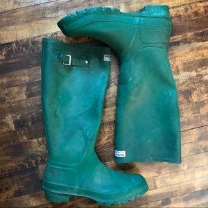 Hunter Tall Green Boots